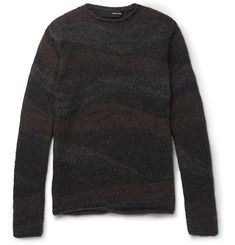 Isabel Benenato - Mélange Knitted Sweater