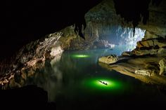 How about this for one of the most amazing places to visit? Tham Khoun Xe, one of the largest active rivers caves in the world, stretches out for nearly 4.5 miles (7km) underground and is quite a s...