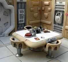 décors Star Wars miniatures - Rémi Bostal, illustrateur modéliste