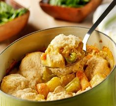 Crock Pot Chicken & Dumplings make in the morning when you KNOW it's going to be a long day!