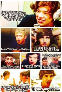 I love Liam's face in these!