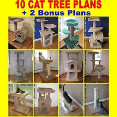 Image result for diy cat scratching post plans