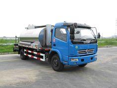 Can be used to transport asphalt Sprinkle cloth car