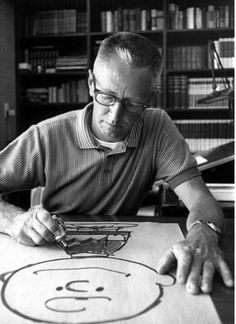 {Charles Schultz} He gave us Charlie Brown & Snoopy! And he helped us to always see life through children's eyes, too.