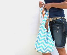 Fabric Purse Hobo Bag Over Shoulder Bag by SmiLeaGainCreations, $40.00