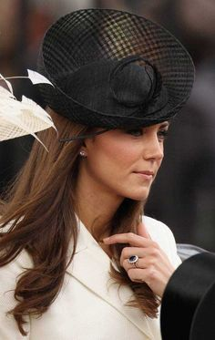 Catherine, Duchess of Cambridge at the Trooping of the Colour 2011
