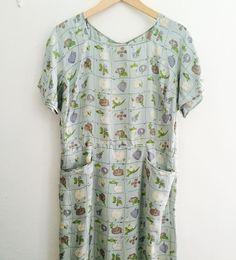 1920s-30s mint green floral silk dress#fab.#vintage#vintagefashion #vintageclothing #1920sfashion #1920sdress #1930sfashion #1930sdress #ヴィンテージ #ヴィンテージファッション#レディース古着 #ヨーロッパ古着 #ヴィンテージドレス