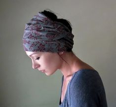 My Victorian Heart Hair Wrap - Womens Headband, Hair Accessories - Bohemian Head Scarves, Headbands