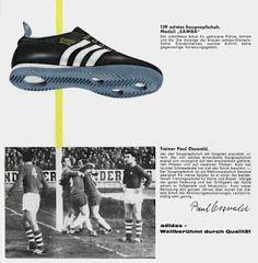 Vintage adidas rummenigge star scarpe da calcio 6 5 rara Uomote 10