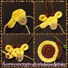 giraffe wip From crochetingthruchronicdiseases Crochet Squares, Crochet Motif, Crochet Patterns, Crochet Appliques, Cute Crochet, Crochet Dolls, Baby Blanket Crochet, Crochet Baby, Crochet Horse