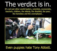 """Say no more the picture tells all #auspol """