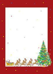 Image Bordure Noel.Carnet De Noel A Imprimer Fond Blanc Bordure Rouge Dessin