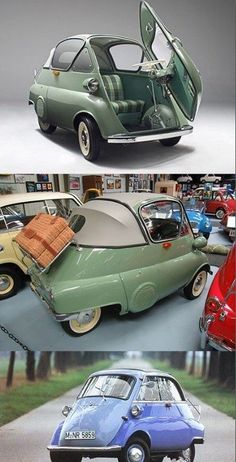 Cool BMW BMW Isetta so much cooler than the smart car. vi… Cool BMW BMW Isetta so much cooler than the smart car. Cute Small Cars, Cute Cars, Bmw Isetta, Microcar, Carros Bmw, Volkswagen, Bmw Classic Cars, Cabriolet, Smart Car