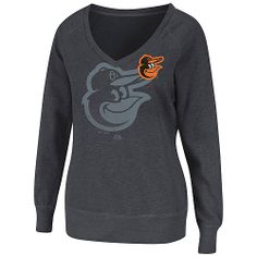 Baltimore Orioles Womens Take Control Fleece Pullover by Majestic Athletic  - MLB.com Shop