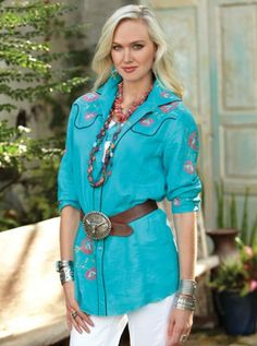 western rose shirt from Crow's nest trading co. Cowgirl Outfits, Western Outfits, Cowgirl Fashion, Rose Shirts, Country Outfits, Country Style, Evolution Of Fashion, Western Wear For Women, Trends