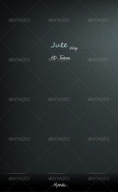 Jute Wrap by Hybridic - Hi-Quality .jpg Textures . - .psd included for easy customizations . - Available for several common resolutions including i-de