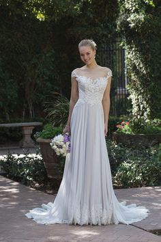 Sincerity Bridal Wedding Dresses - Search our photo gallery for pictures of wedding dresses by Sincerity Bridal. Find the perfect dress with recent Sincerity Bridal photos. Sincerity Bridal Wedding Dresses, Wedding Dress Chiffon, Tulle Wedding, Bridal Gowns, Wedding Gowns, Tulle Ball Gown, Ball Gowns, Chiffon Rock, Chiffon Skirt