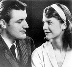 Sylvia Plath + Ted Huges=best poet couple of all time