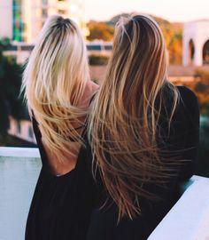 cabello largo tonos rubios cabello bianca salon