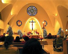 Midnight Mass at St. Stephen Martyr Catholic Church