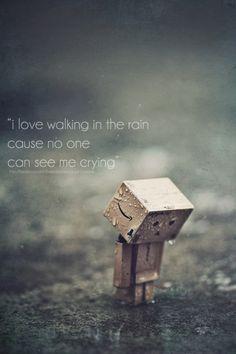 walking in the rain by *brenditaworks on deviantART