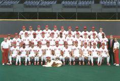 1990 Cincinnati Reds Team Photo