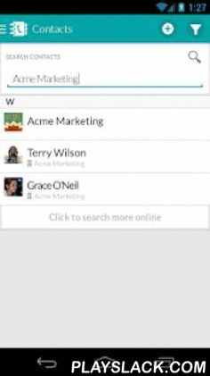 WORKetc CRM + Projects + More  Android App - playslack.com ,  WORK[etc] combines CRM, project management, billing, sales, help desk, and more with a powerful automation engine to drive your business to the next level.Get your free trial now at https://www.worketc.com.FEATURES- Integrated CRM, projects, billing, help desk, timesheets, calendars, and more- 100% native Android experience- Get an instant view of what you're working on and what you have scheduled through the main dashboard…
