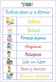 Rutina para ir a dormir, para ir con Good Night Gorilla. Activities For 2 Year Olds, Activities For Kids, Parenting Advice, Kids And Parenting, Daily Routine Chart, Bullet Journal School, Infant Activities, Business For Kids, My Little Girl