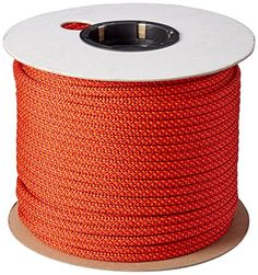 Abc Accessory Cord 7mm x 300Feet Orange *** Check out the image by visiting the link. This is an Amazon Affiliate links. Trekking, Climbing Rope, Survival Kit, Tactical Gear, Cord, Outdoors, Edc, Image Link, Hiking