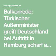 Balkonrede: Türkischer Außenminister greift Deutschland bei Auftritt in Hamburg scharf an + Video
