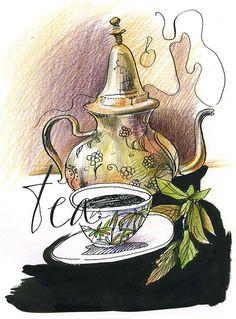 Черный чай  ~    tea for one