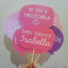 props photoboot cartelitos kit baby shower personalizado
