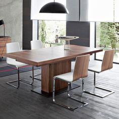 Table design Longueur 190 x Largeur 95cm + Allonges VITA