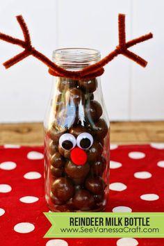 Reindeer Milk Bottles!