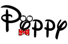 Mickey Poppy Disney Custom Personalized  by AreWeThereYetDesigns, $5.00
