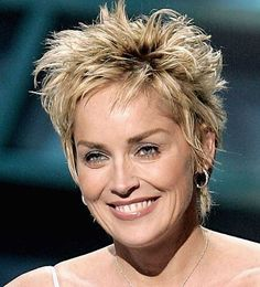 Sharon Stone Sassy Pixie