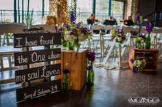 Crest Pavilion inside wedding ceremony in Asheville, NC. Mozingo Photography. Flowers by Two Buds and a Blossom.