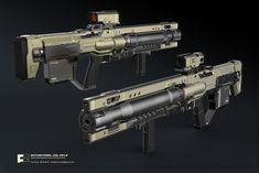 ANTI-MATERIAL COIL GUN by icedestroyer.deviantart.com on @DeviantArt