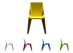 Edge Stackable Chair — Dining and Side Chairs -- Better Living Through Design 629