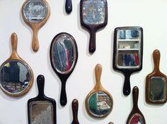 mirror wall - cool idea