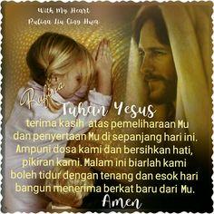 """With My Heart ✨🌙... :: (\_(\ *: (=' :') :* •.. (,("""")("""")¤°´¯`» •ღღ• Good Night •ღღ• ~  Mazmur 4:8 (TB)  (4-9) Dengan tenteram aku mau membaringkan diri, lalu segera tidur, sebab hanya Engkaulah, ya TUHAN, yang membiarkan aku diam dengan aman."""