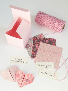 Bluebells Design - Happy Valentine's Day with Self Packaging