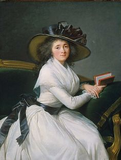 by Elisabeth Louise Vigee Le Brun, one the few respected women artists painting in the 18th century.