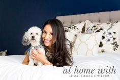 Photo by Frame Your Pet. Graphic design by Pretty Fluffy. Dog photographer Los Angeles. Pillow, design, inspiration, home decor.