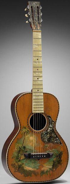 1930 Stromberg-Voisenet Hawaiian Guitar --- https://www.pinterest.com/lardyfatboy/