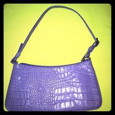 "SALE! Express handbag Cute little clutch purse. Genuine leather. 11"" X 5.5"" Express Bags Clutches & Wristlets"