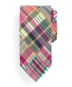 Madras Patch Tie | Brooks Brothers
