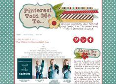 FABULOUS Style Blog!!!  Slightly Askew Designs - Pinterest Told Me To Blog Design