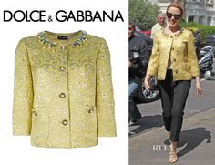 Kylie Minogue's Dolce & Gabbana Embellished Jacket1