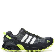 af4b3b548a8 Adidas Men s Rockadia Trail Running Shoes (Dark Grey Solar Yell)